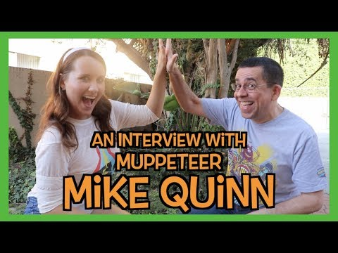 An Interview with Muppeteer Mike Quinn || Adorkable Rachel