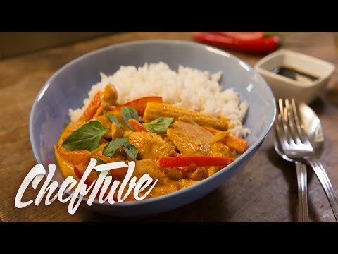 How To Make Thai Curry With Chicken - Recipe In Description