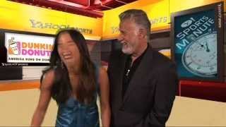 The Most Interesting Man In the World talks w/ host Angela Sun about what is interesting to him