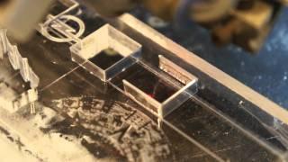 Co2 Laser Cutter 10mm Thick Acrylics 1 Pass - Lasersnijden Acrylaat/plexiglas 10mm Dik