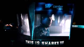 San Jose Sharks 2013-2014 Season Opening Sequence 10/3/13