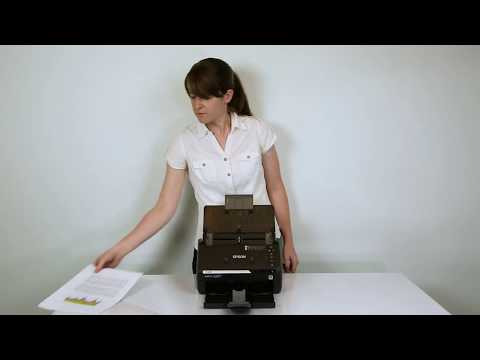 Epson FastFoto FF-680W | How To Scan Documents