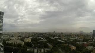 Гроза в Москве 30.06.2013