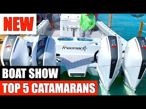 Top 5 Catamaran's 2020 Miami Boat Show - Sea Trials (Value)