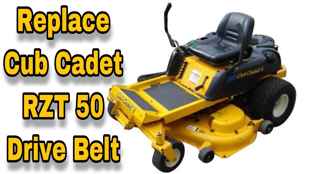 How To Replace The Drive Belt (Pump Belt) On A Cub Cadet