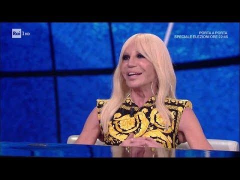 Donatella Versace - Che tempo che fa 04/03/2018