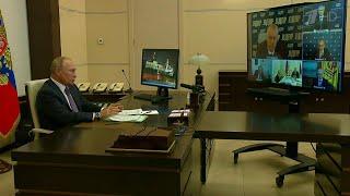 Владимир Путин обсудил с лидерами думских фракций реализацию новых положений Конституции