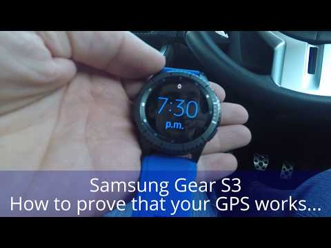 Samsung Gear S3 - How to prove that your GPS works - Update 4