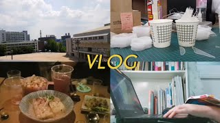 Vlog | 대학생 브이로그 | 건축 2학년 여름방학,…
