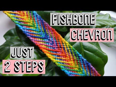 FISHBONE CHEVRON || Friendship Bracelets