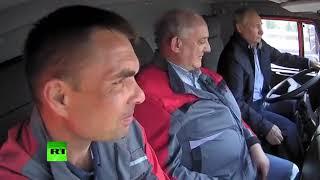 Путин на камазе прикол (мафия в кразе)