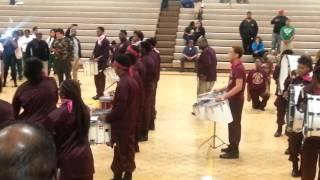 37 drumline battle morrow hs vs forest park hs