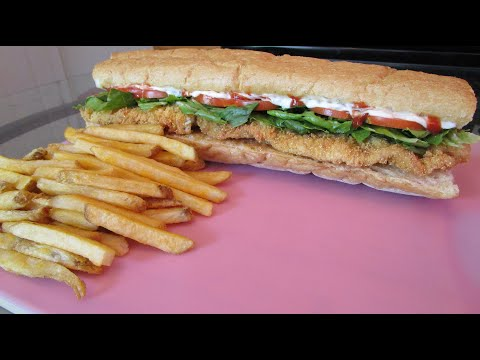 How To Make A Fried Catfish Poboy