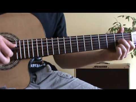 Guantanamera guitar lesson with TAB (original version)