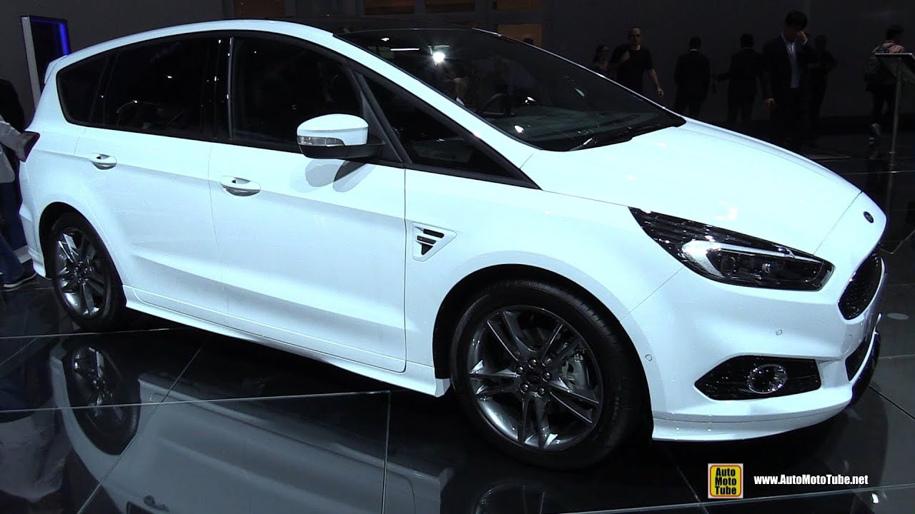 2018 ford s max st line exterior and interior walkaround 2017 frankfurt auto show youtube. Black Bedroom Furniture Sets. Home Design Ideas