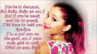 Ariana Grande Ft Iyaz - You