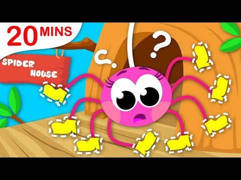 Where are My Shoes? | Itsy Bitsy Spider | Paw Patrol | Five Little Ducks | by Little Angel