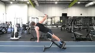 Back Extension Reverse Twist
