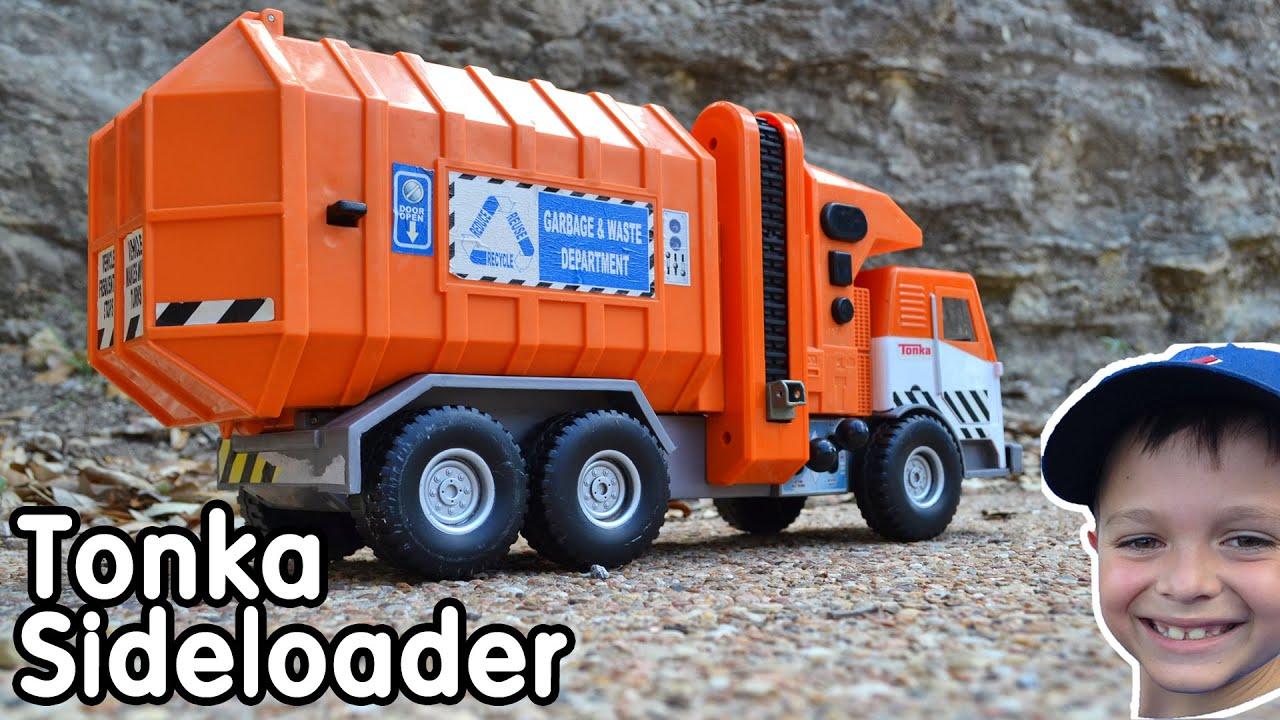 Motorized Toy Tonka Garbage Truck Side Loader Wow Blog