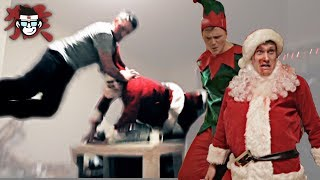 Man attacks Santa  - (FT Ginger Ninja Trickster)