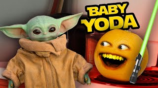 Annoying Orange - Baby Yoda Visits the Kitchen!