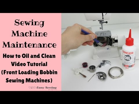 Sewing Machine Maintenance How To Oil And Clean Front Loading Classy Shark 612c Sewing Machine Review