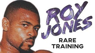 Roy Jones Jr RARE Training In Prime