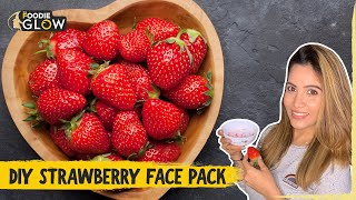 DIY Strawberry Face Mask Strawberry Face Mask For Clear Glowing Skin The Foodie Glow