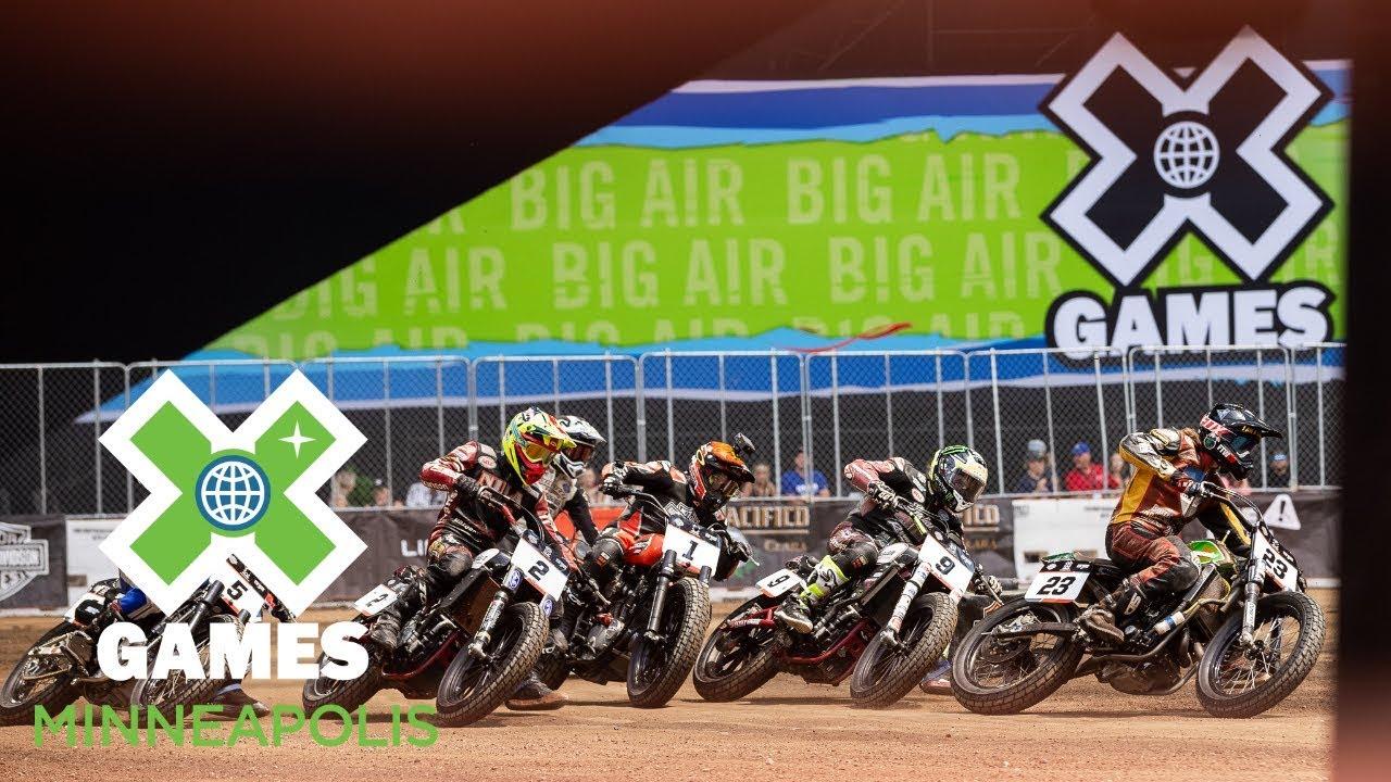 Harley-Davidson Moto X Flat Track Racing: FULL BROADCAST | X Games Minneapolis 2018
