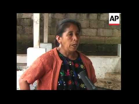 Indigenous people of Guatemala comment on Mayan pres candidate