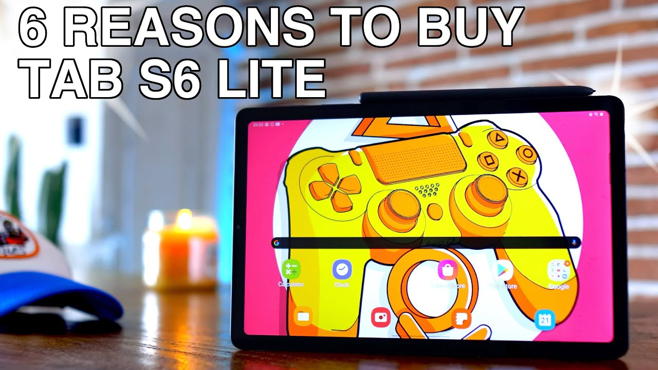 Tab S6 Lite - 6 REASONS TO BUY! (Video Editing?? / Keyboard??)