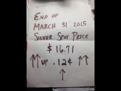 Month #15 for end of MARCH 2015 silver stacking & numismatic coin pick ups