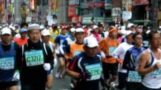 東京マラソン2009 歌舞伎町付近