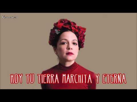 Natalia Lafourcade - Mexicana Hermosa - Letra / Lyrics