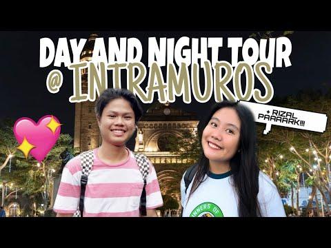DAY & NIGHT TOUR AT INTRAMUROS + RIZAL PARK  |  Precious Murilla
