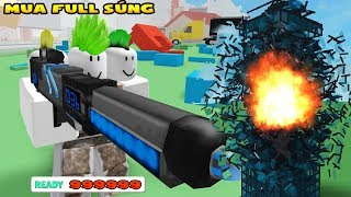 Roblox | Buy all weapons in Destruction Simulator Game | MinhMaMa