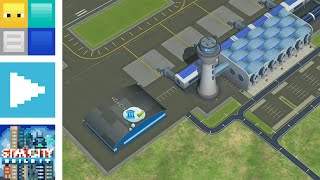 SimCity BuildIt - Building the International Airport | Blocks Plays BuildIt E16 | AYB57
