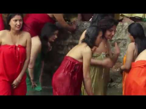 Hindu Women Holy Bath In Bagmati River 2019 -2020 Hots Video Fh Hd