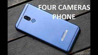 Huawei G10 - Four Cameras Phone - Specs and Details - Quick Review