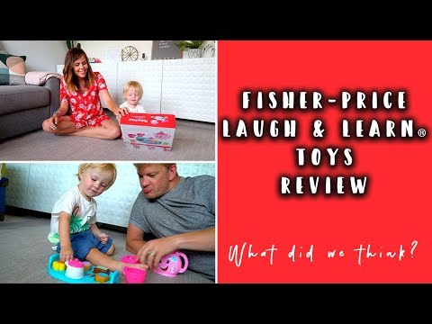 TESTING OUT FISHER- PRICE® LAUGH AND LEARN® TOYS WITH MY LITTLE BOY #AD