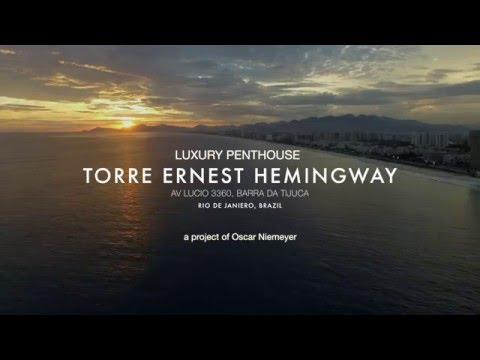 Luxury Penthouse at Ernest Hemingway Tower, Rio de Janeiro, Brazil