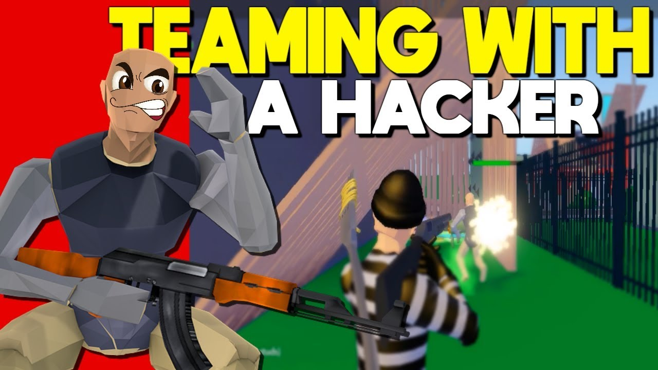 I TEAMED With A HACKER In Strucid... - YouTube