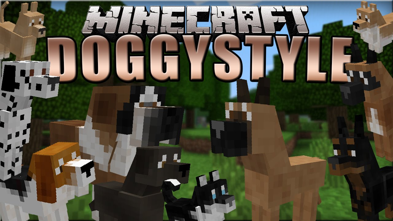 Minecraft Cats And Dogs Mod