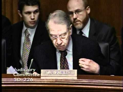 Grassley questions AG Holder on ATF Project Gunrunner