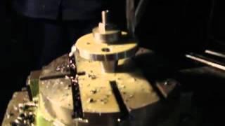Сверление фланца(Сверление фланца http://pkfedver.ru/, 2015-10-28T18:33:13.000Z)