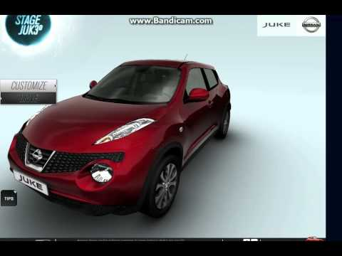 nissan stage juke 3d youtube. Black Bedroom Furniture Sets. Home Design Ideas