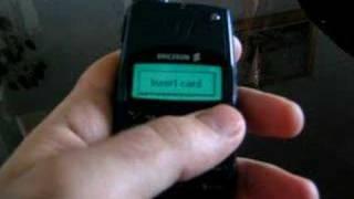 Ericsson T28 world power up