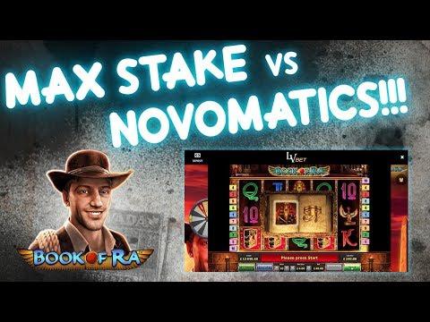 Book of Ra MAX Stake!!! BIG Win or Fail???