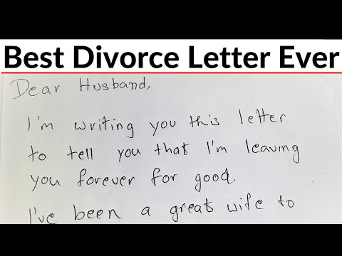 Wife Demands Divorce In Letter,Husband's Brilliant Reply Makes Her Regret Every Word|Revenge Lessons