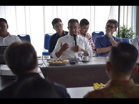 Anies Baswedan di Jakarta Post